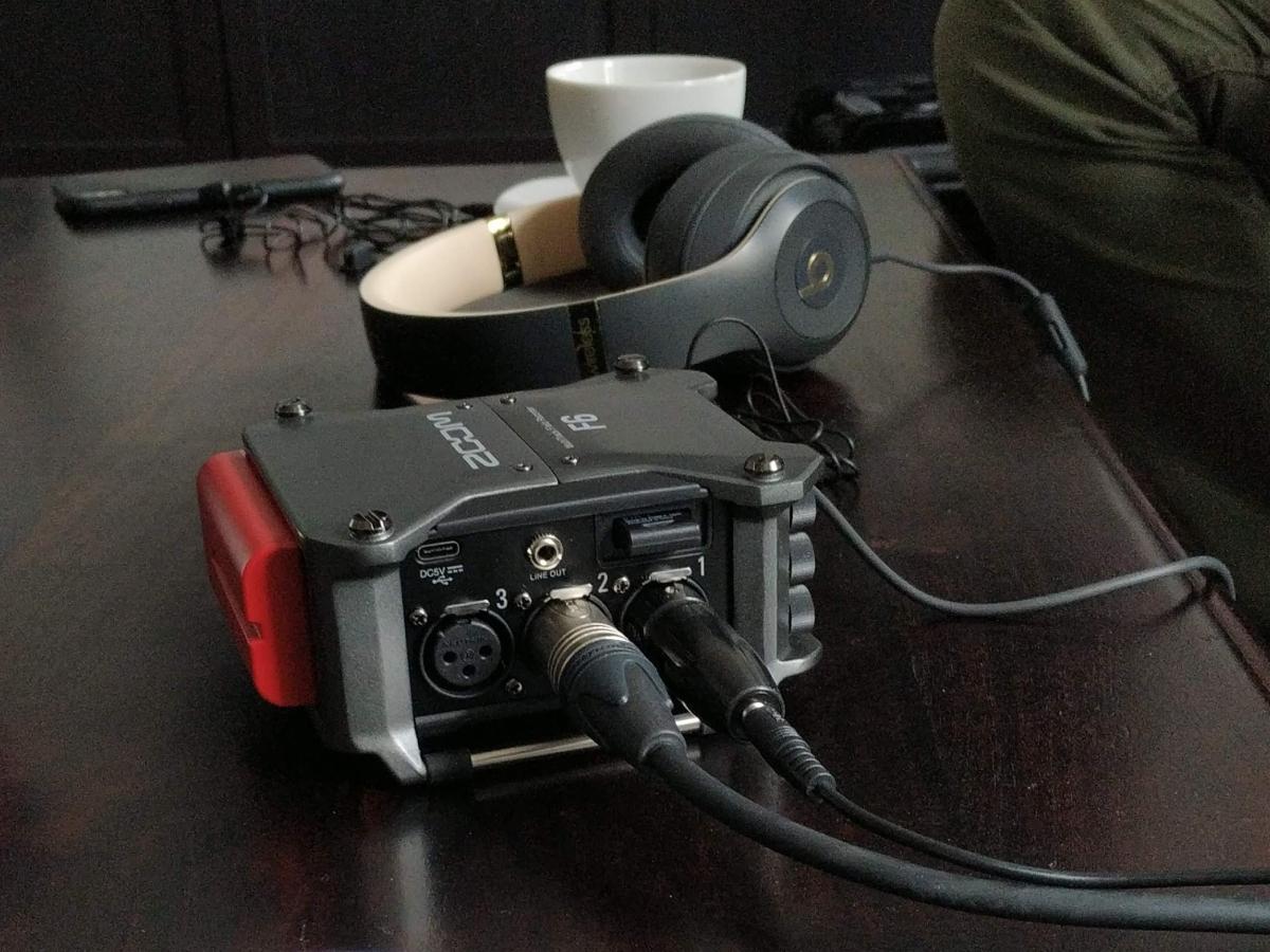 Zoom mit Kopfhörer fürs podcasten